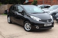 USED 2014 63 NISSAN NOTE 1.2 ACENTA 5d 80 BHP **** ONLY 10,000 MILES FROM NEW * FULL SERVICE HISTORY * £20 ROAD TAX ****