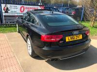 "USED 2012 61 AUDI S5 3.0 TFSI Sportback S Tronic Quattro 5dr ""24 MONTHS FULLY/COM WARRANTY""+FSH+SUNROOF+AUTO+F/LEATHER+NAV+OPEN 7 DAYS A WEEK"