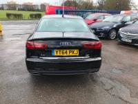 "USED 2015 64 AUDI A6 2.0 TDI Ultra SE 4dr S Tronic ""24 MONTHS FULLY/COM WARRANTY""+1 OWNER+FDSH+F/LEATHER+DAB+NAV+OPEN 7 DAYS A WEEK"