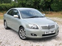 USED 2007 57 TOYOTA AVENSIS 2.0 TR D-4D 5d 125 BHP