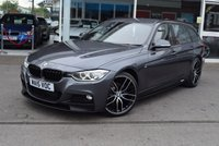 USED 2015 15 BMW 3 SERIES 2.0 320D M SPORT TOURING 5d AUTO 181 BHP M-Performance Body Kit+