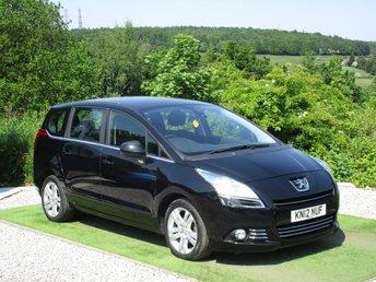 2012 PEUGEOT 5008 1.6 HDI ACTIVE 5d 112 BHP £5690.00