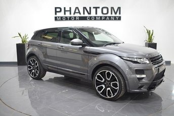 2015 LAND ROVER RANGE ROVER EVOQUE 2.2 SD4 PURE TECH 5d AUTO 190 BHP £31990.00