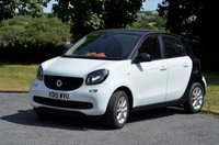USED 2015 15 SMART FORFOUR 1.0 PASSION 5d 71 BHP