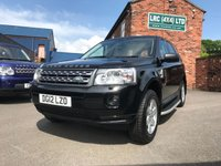 USED 2012 12 LAND ROVER FREELANDER 2.2 TD4 GS 5d 150 BHP Very clean Freelander 2