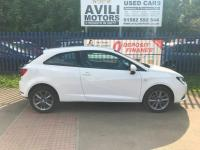 "USED 2015 65 SEAT IBIZA 1.2 TSI I TECH 3dr ""24 MONTHS FULLY/COM WARRANTY""+1 OWNER+FSH+SATNAV+H/LEATHER+OPEN 7 DAYS A WEEK"