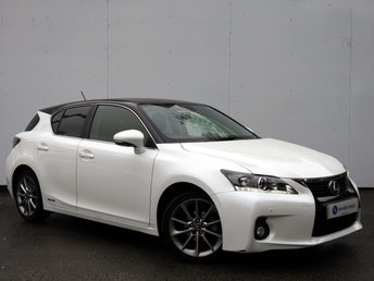 2013 LEXUS CT 1.8 200H ADVANCE 5d AUTO 136 BHP £11995.00