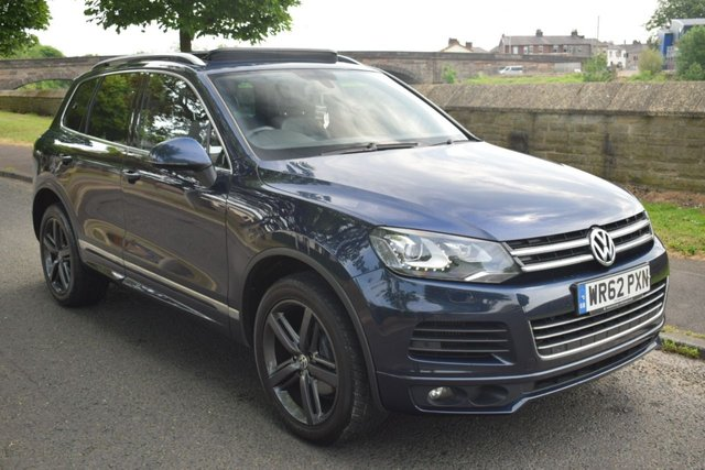 2012 62 VOLKSWAGEN TOUAREG 3.0 V6 ALTITUDE TDI BLUEMOTION TECHNOLOGY 5d 242 BHP