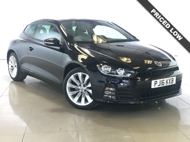 View our 2016 16 VOLKSWAGEN SCIROCCO 2.0 GT TSI BLUEMOTION TECHNOLOGY DSG 2d AUTO 178 BHP