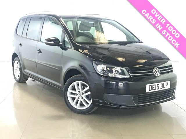 View our 2015 15 VOLKSWAGEN TOURAN 1.6 SE TDI BLUEMOTION TECHNOLOGY 5d 103 BHP