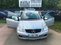 "USED 2011 61 MERCEDES-BENZ A CLASS 1.5 A160 Classic SE CVT 5dr ""24 MONTHS FULLY/COM WARRANTY""+AUTO+TAX+MOT+WARRANTY+OPEN 7 DAYS A WEEK"