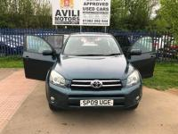 """USED 2009 09 TOYOTA RAV4 2.2 D-4D SR180 5dr """"24 MONTHS FULLY/COM WARRANTY""""+SUNROOF+FSH+TOWBAR+TINTED GLASS+OPEN 7 DAYS A WEEK"""