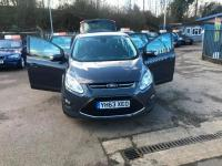 USED 2013 63 FORD C-MAX 1.6 TDCi Zetec 5dr BUY WITH CONFIDENCE+1 OWNER+FDSH+MOT+TAX+WARRANTY+OPEN 7 DAYS A WEEK