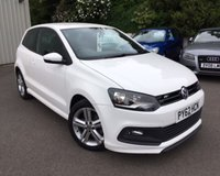USED 2013 62 VOLKSWAGEN POLO 1.2 R LINE TSI 3d 104 BHP