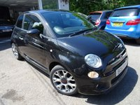 USED 2015 15 FIAT 500 0.9 TWINAIR S (SPORT) 3d 85 BHP Low Mileage, One Lady Owner from new, Service History + Just Serviced by ourselves, MOT until March 2019, Excellent fuel economy! ZERO Road Tax!