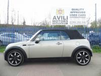 """USED 2008 08 MINI CONVERTIBLE 1.6 Cooper Sidewalk 2dr """"24 MONTHS FULLY/COM WARRANTY""""+1 OWNER+F/LEATHER+FSH+MOT+TAX+OPEN 7 DAYS A WEEK"""