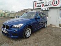 USED 2012 12 BMW X1 2.0 XDRIVE20D M SPORT 5d 174 BHP £47 PER WEEK NO DEPOSIT - SEE FINANCE LINK BELOW
