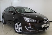 USED 2013 13 VAUXHALL ASTRA 2.0 SRI CDTI 5DR 162 BHP FULL SERVICE HISTORY + CRUISE CONTROL + PARKING SENSOR + MULTI FUNCTION WHEEL + AIR CONDITIONING + AUXILIARY PORT + 17 INCH ALLOY WHEELS