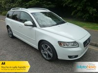 2011 VOLVO V50 2.0 D3 SE LUX EDITION 5d 148 BHP £7700.00