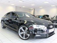 2013 AUDI A5 2.0 TDI 177 BHP S LINE BLACK EDITION 5d £15985.00