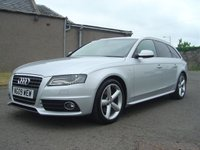 USED 2009 09 AUDI A4 2.0 AVANT TDI S LINE SPECIAL EDITION 5d AUTO 141 BHP
