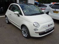 USED 2015 15 FIAT 500 1.2 LOUNGE 3d 69 BHP Low Mileage, Full Fiat Service History + Just Serviced by ourselves, One Lady Owner from new, MOT until June 2019, Great on fuel economy! Only £30 Road Tax!