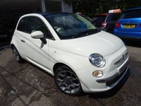 USED 2014 64 FIAT 500 1.2 LOUNGE 3d 69 BHP Low Mileage, One Lady Owner from new, Just Serviced by ourselves, Minimum 8 months MOT, Great on fuel economy! Only £30 Road Tax! Low Insurance Group!