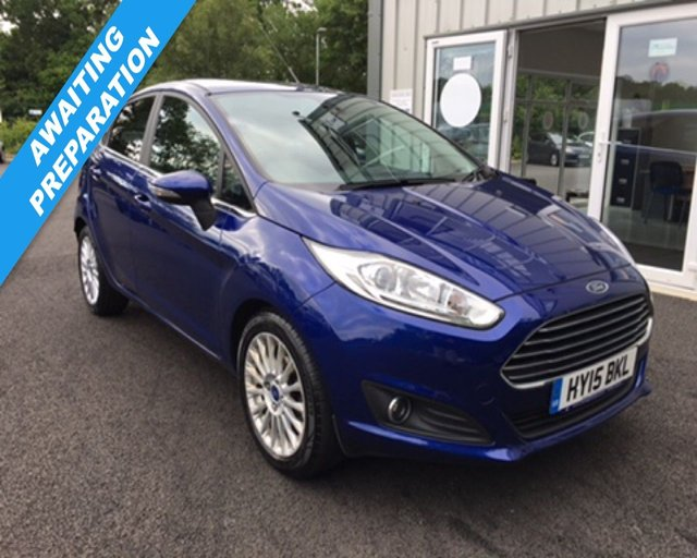 2015 15 FORD FIESTA 1.0 TITANIUM ECOBOOST AUTOMATIC (100ps)