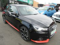 USED 2012 61 AUDI A1 1.4 TFSI COMPETITION LINE 3d 122 BHP **FULL SERVICE HISTORY** NO DEPOSIT DEALS 01543 379066