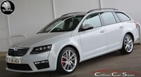 2016 SKODA OCTAVIA 2.0TDi VRS 5 DOOR ESTATE 6-SPEED 181 BHP £SOLD
