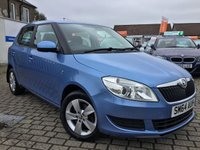 USED 2014 64 SKODA FABIA 1.6 SE TDI CR 5d 103 BHP 1 LADY OWNER CAR WITH FULL SKODA HISTORY !!!