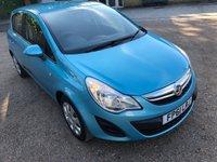 2012 VAUXHALL CORSA 1.4 EXCLUSIV AC 5d AUTO 98 BHP £2500.00