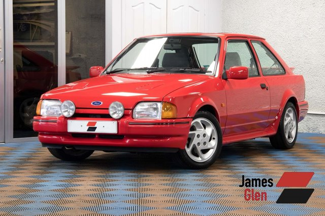 USED 1989 FORD ESCORT 1.6 RS TURBO 3d 132 BHP One Family Owner From New | Original & Unrestored