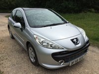 USED 2008 58 PEUGEOT 207 1.4 SPORT CIELO 3d 73 BHP Alloy Wheels, Low Mileage, A/C
