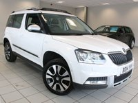 2014 SKODA YETI 2.0 TDI CR 170 BHP OUTDOOR 4 X 4 LAURIN AND KLEMENT 5dr £9985.00