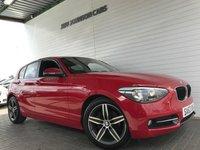 2012 BMW 1 SERIES 1.6 114I SPORT 5d 101 BHP £8495.00