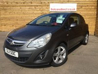 USED 2011 11 VAUXHALL CORSA 1.2 SXI 3d 1 PREVIOUS OWNER