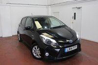 2014 TOYOTA YARIS 1.5 HYBRID ICON PLUS 5d 61 BHP £8495.00