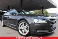 USED 2011 61 AUDI A8 4.2 TDI QUATTRO SE EXECUTIVE 4d 346 BHP