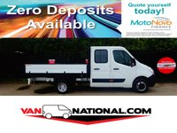 2015 VAUXHALL MOVANO 2.3 R3500 L3H1 CDTI CRC TIPPER 125 BHP (one owner a con twin wheels) £13490.00