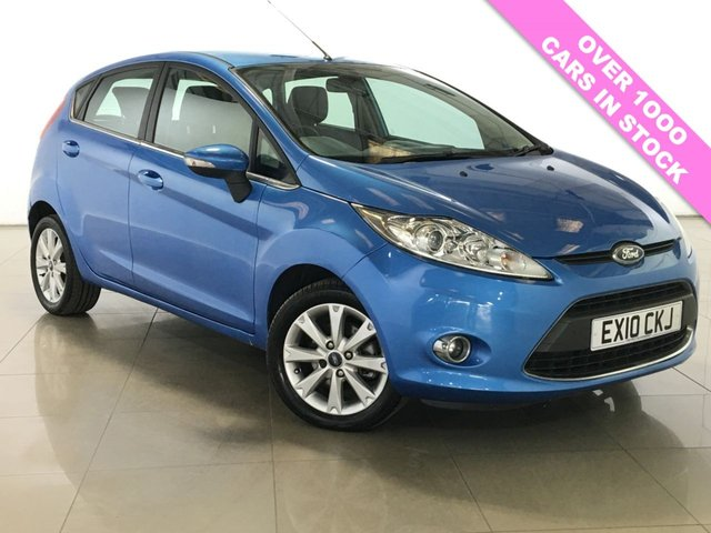 View our 2010 10 FORD FIESTA 1.4 ZETEC 16V 5d 96 BHP