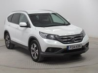 USED 2014 14 HONDA CR-V 2.0 I-VTEC SR 5d AUTO 153 BHP 1 Owner, Service History, MOT until 12th March 2019, Auto, Reversing Camera, Front and Rear Parking Sensors, Heated Seats, Stunning Alcantara Trim, Heated Seats,  Air Conditioning, Bluetooth, 2 Keys. Free RAC Warranty and Free RAC Breakdown Cover