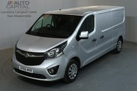 USED 2015 65 VAUXHALL VIVARO 1.6 2900 SPORTIVE 114 BHP L2 H1 LWB LOW ROOF A/C ONE OWNER FROM NEW, SERVICE HISTORY