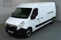 USED 2015 65 VAUXHALL MOVANO 2.3 F3500 109 BHP L3 H2 LWB MEDIUM ROOF ONE OWNER FROM NEW, SERVICE HISTORY