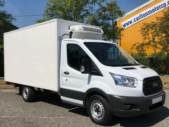2014 FORD TRANSIT 2.2 350 LWB REFRIGERATED BOX VAN STANDBY LOW MILEAGE SRW  £15950.00