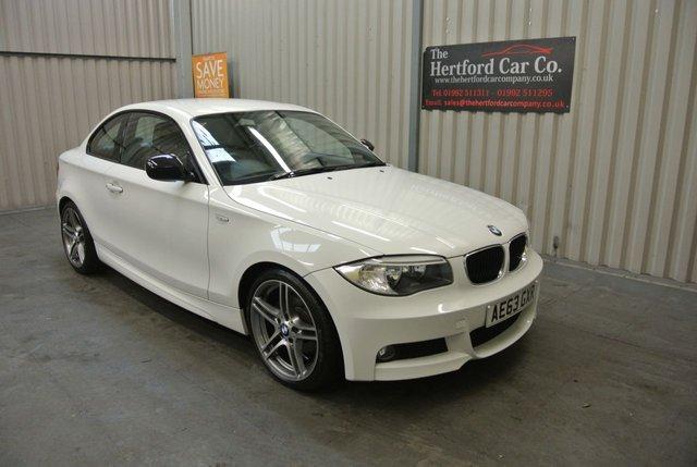 2013 63 BMW 1 SERIES 2.0 118D SPORT PLUS EDITION 2d 141 BHP