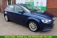 USED 2015 64 AUDI A3 1.6 TDI SE 5d 109 BHP +ONE Owner +Very LOW Miles