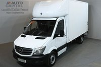 USED 2017 67 MERCEDES-BENZ SPRINTER 2.1 314CDI 140 BHP LWB LUTON VAN E6 ONE OWNER FROM NEW, MANUFACTURE WARRANTY UNTIL 29/11/2020