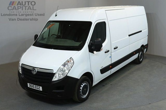 2015 15 VAUXHALL MOVANO 2.3 F3500 109 BHP L3 H2 LWB MEDIUM ROOF ONE OWNER FROM NEW, SERVICE HISTORY