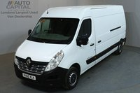 USED 2015 65 RENAULT MASTER 2.3 LM35 BUSINESS 125 BHP L3 H2 LWB MEDIUM ROOF ONE OWNER, SERVICE HISTORY